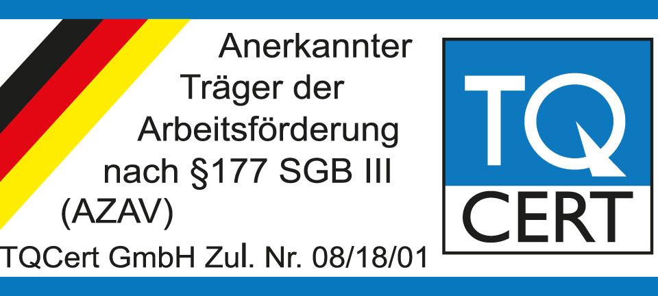 Zertifikat-AZAV-TQCERT